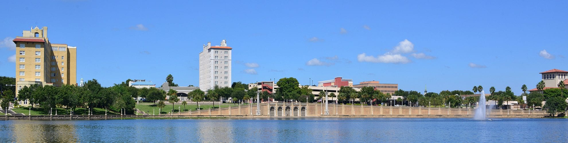 Photo of Lake Morton skyline in Lakeland, FL